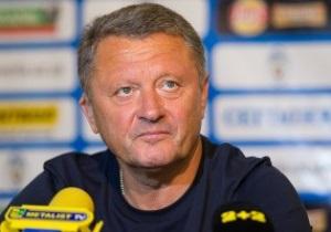Маркевич: Верим и надеемся, что в среду будем играть в Лиге Чемпионов