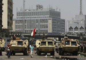 Криза в Єгипті: біля мечеті в Каїрі лунають постріли