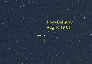 Nova Delphini. Найяскравіша зірка десятиліття спалахнула в сузір ї Дельфіна