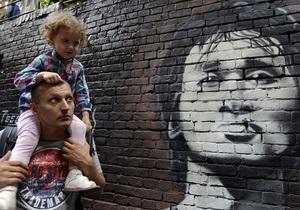 Новини шоу бізнесу та культури - Новини музики - У Києві відкрилася стіна Цоя