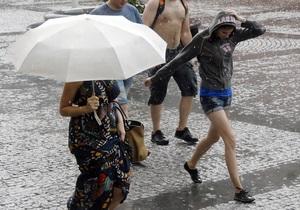Погода в Україні - Прогноз погоди - В Україну йдуть дощі і похолодання
