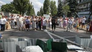 У Києві нове протистояння через будівництво