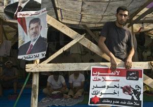 Влада Єгипту відклала розгін протестних таборів