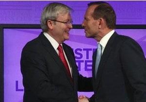 Суперники на виборах в Австралії провели перші дебати