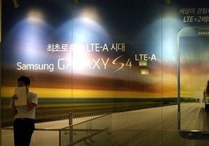 Компания Apple  добилась запрета на продажу на территории США части продукции Samsung