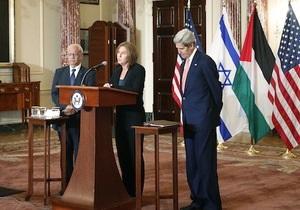 Ізраїль - Палестина - переговори