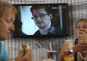 Сноуден - Росія - реєстрація