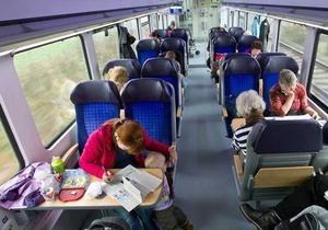 У німецьких поїздах можуть з'явитися вікна, які розмовляють