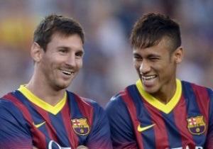 Фотогалерея. Как Барселона бывшую команду Неймара уничтожила