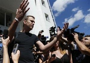 Единая Россия звинувачує Навального у незаконному фінансуванні передвиборчої кампанії