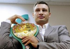 WBC не намерена лишать Виталия Кличко чемпионского титула