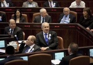 В ізраїльському парламенті вперше піднято прапор Палестини