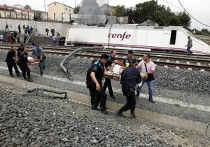 Машиніст іспанського поїзда, який перевищив швидкість, заперечує, що розмовляв по телефону