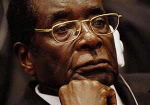 Зімбабве - Мугабе - президентські вибори