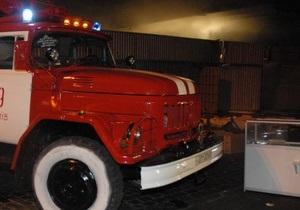 Київ - пожежа - автомобілі