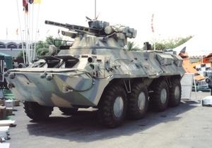 Укрспецекспорт - БТР - Україна поставила Таїланду нові ракетні БТР
