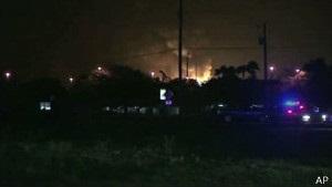 У Флориді знайшли неушкодженими 15 зниклих безвісти робітників газового заводу