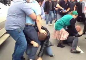 У Москві затримали торговця кавунами, який проламав череп поліцейському