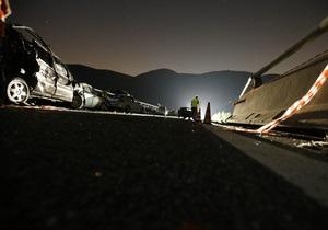 Італія  аварія - автобус - фотогалерея