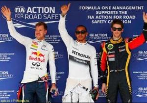 Хемілтон виграє кваліфікацію Гран-прі Угорщини