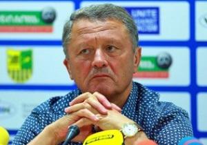 Тренер Металлиста: Наши футболисты мыслями были уже в Греции