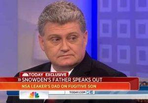 Батько Сноудена закликав політиків та ЗМІ не демонізувати його сина
