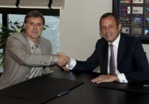 Барселона официально подписала контракт с Мартино