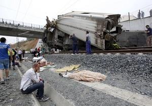 Іспанія - аварія - поїзд - машиніст