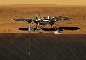 Марс - NASA - апарат InSight