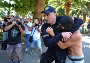 Новини Чорногорії - гей-парад - У Чорногорії сотні радикально налаштованих людей намагалися зірвати перший у країні гей-парад