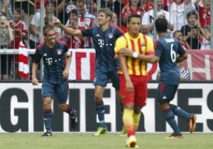 Бавария переиграла Барселону в товарищеском матче