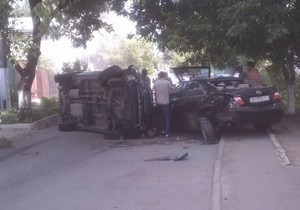В Одесі п'яний водій розбив п'ять машин