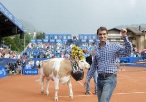 Легендарному Федереру подарували нову корову