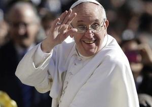 Папа Франциск - зарубіжна поїздка