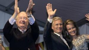 Король Бельгії зрікся престолу на користь сина Філіпа