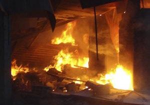 Новини США - пожежа - У США внаслідок великої пожежі постраждали понад 50 осіб