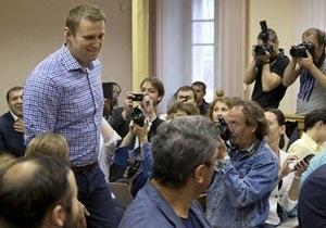 Штаб: Участь Навального у виборах мера Москви залежить від рішення Кіровського обласного суду