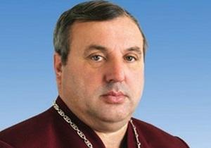 В ячеслав Овчаренко - КСУ - Янукович привітав земляка із обранням головою КС