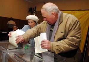 Вибори - перевибори - Регіонали визначилися з датою перевиборів у семи округах - Ъ