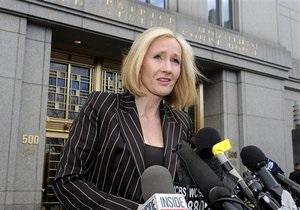 Директор видавництва зізналася, що відмовилася друкувати детектив Джоан Роулінг