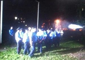 Штурм РВВС на Святошино: міліція заперечує застосування сльозогінного газу проти учасників акції
