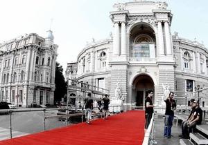Офіційне відкриття Одеського кінофестивалю проходить в Оперному театрі