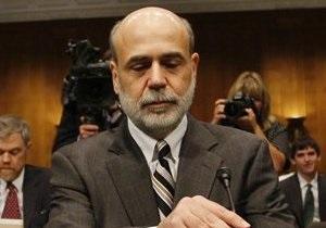 ФРС США - Бернанке - Бернанке охолодив запал інвесторів, поклавши край доларовому ралі