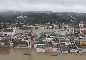 Большая вода в Европе вылилась миллиардными убытками для страховщиков