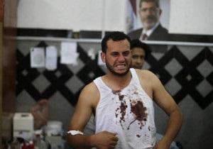 В Єгипті вбиті десятки прибічників усуненого президента