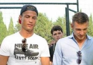 Андрей Шевченко и Криштиану Роналду открыли академию в Грузии
