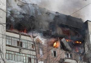 У Москві пожежники подали запит на вертольоти для гасіння пожежі площею 1,4 тис кв метрів