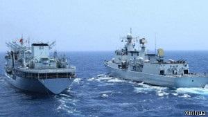 Китай і Росія проводять масштабні морські навчання