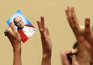 Іоанн Павло ІІ - лик святих