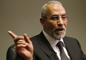 Єгипет -  Брати-мусульмани - Мохаммед Баді